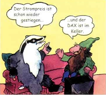 763 Cartoon Dachs Bild 1