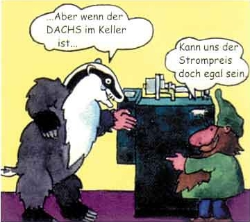 763 Cartoon Dachs Bild 2