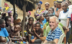 446 Thomas Ricke in Afrika / Foto: Schoolforests for West Africa e.V.