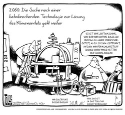 2712 Cartoon Zeitmaschine / © 2016 Michael E. Mann und Tom Toles