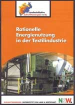 Cover Rationelle Energienutzung in der Textilindustrie
